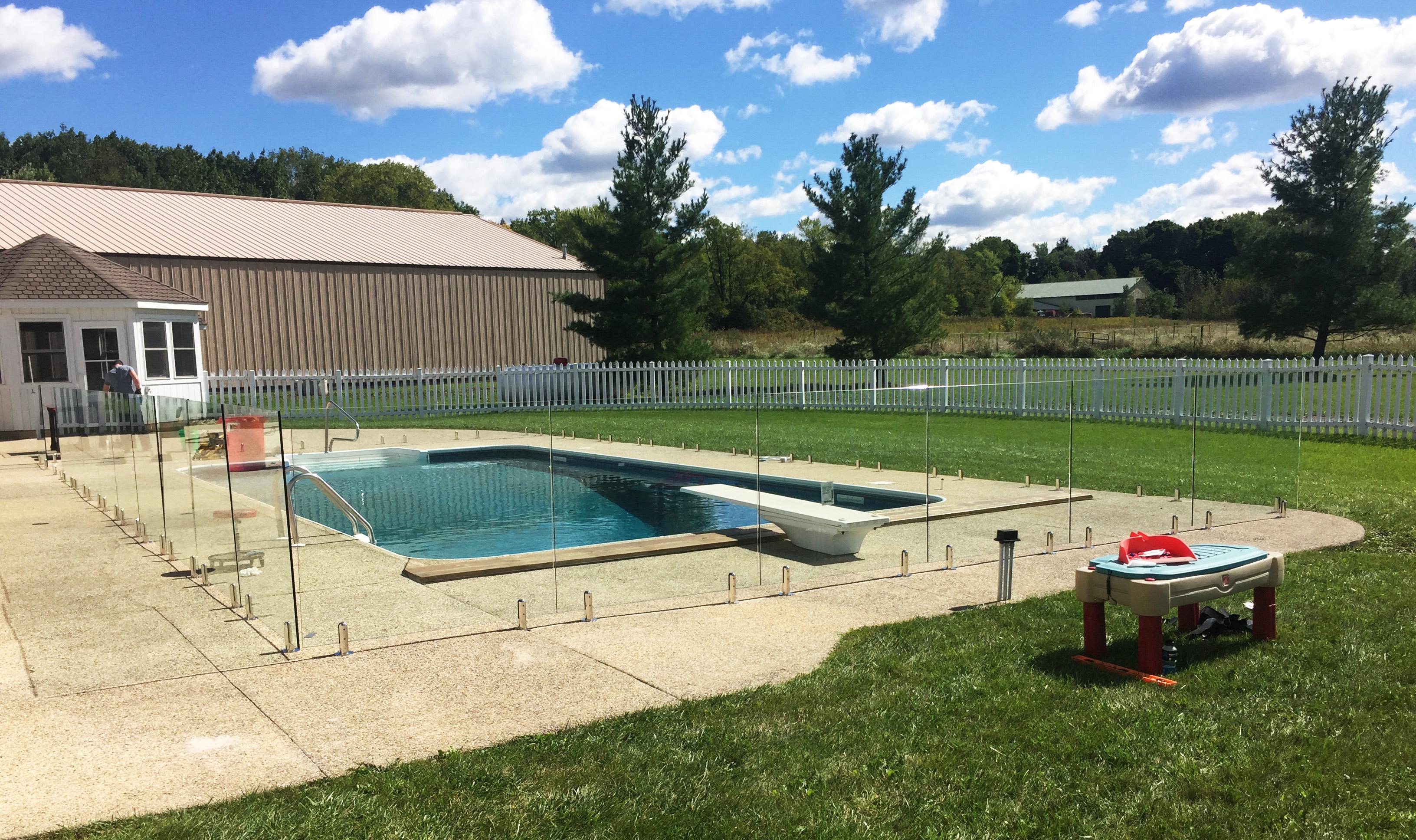 pool fencing babyproof backyard