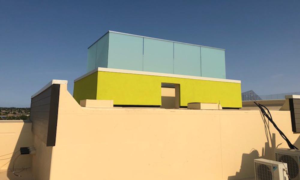 home2suites railing 2