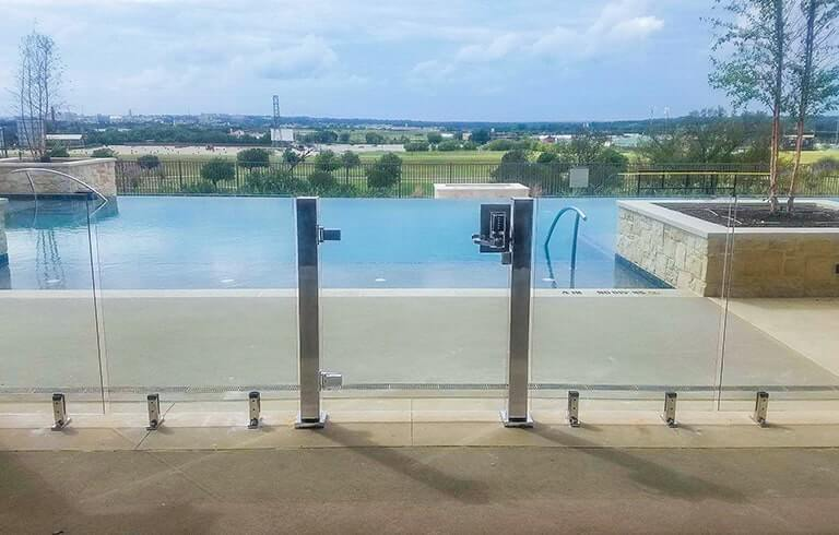 , Design Inspiration: Multifamily Glass Pool Fencing