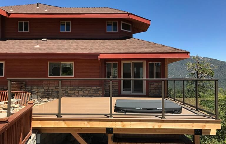 , Glass Railing Options for Wood Decks