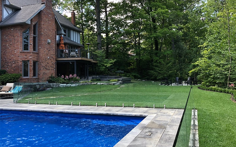 connecticut glass pool fence