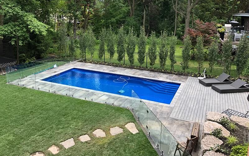 connecticut glass pool fence 2