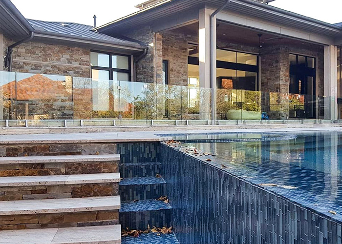 , Utah Glass Pool Fence