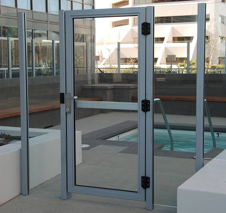 Glass Pool Gates Aquaview Fencing