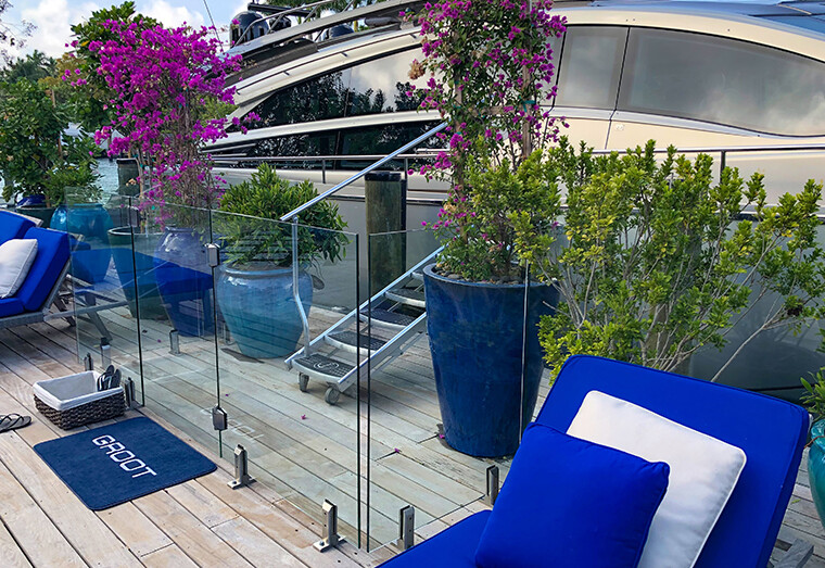 ", Project Spotlight: David Grutman's Glass Fence, Featuring ""The Groot"""