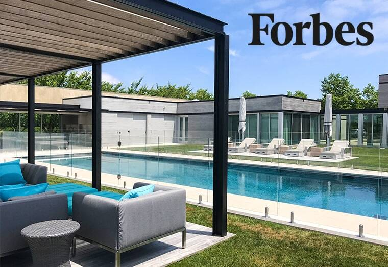 forbes, Aquaview Fencing Featured in Forbes Magazine